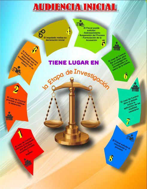 Pasos Para Llevar Una Adiencia Inicial En El Proceso Penal Acusatorio Juicio Oral Penal Abogados Derecho Amparo Juicios Law Student Law School Legal Firm