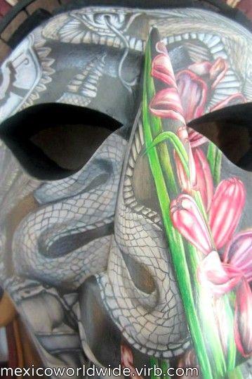 #daughter#mask#love#art#custom#aztecprincess#cedar#grumpyVillarruel