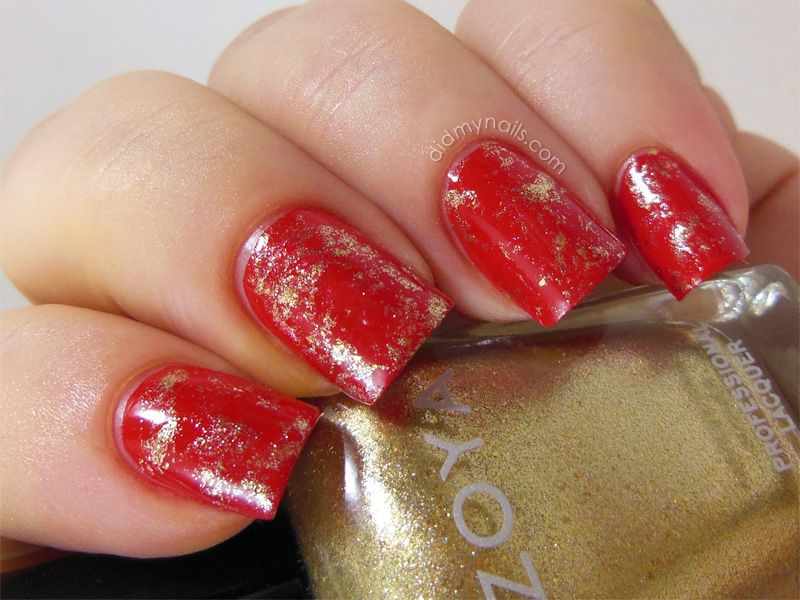 new years nail designs | ... new-year-nail-design-with-silver ...