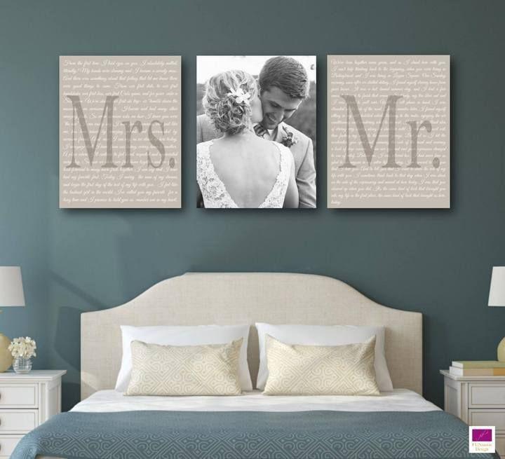 Wedding Vow Art – set of 3 – #Art #dreamhouses #Set #Vow #Wedding – Einrichtungsideen