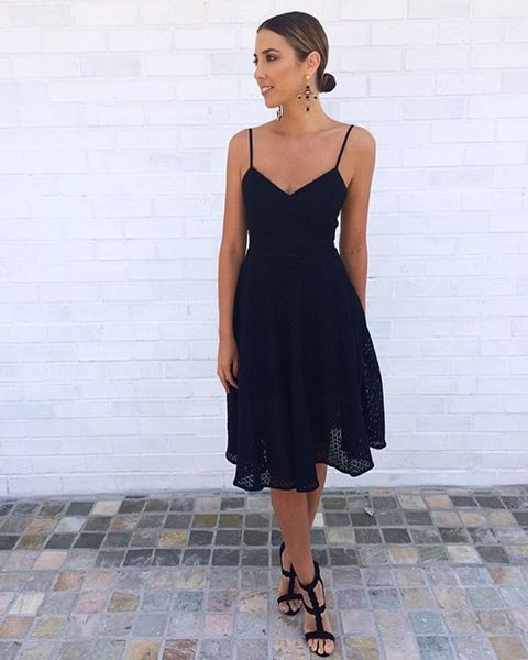 Kookai ila dress black