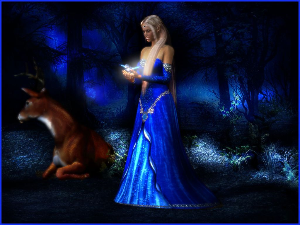 Image Detail For Blue Fairy Fairies Wallpaper 19086390