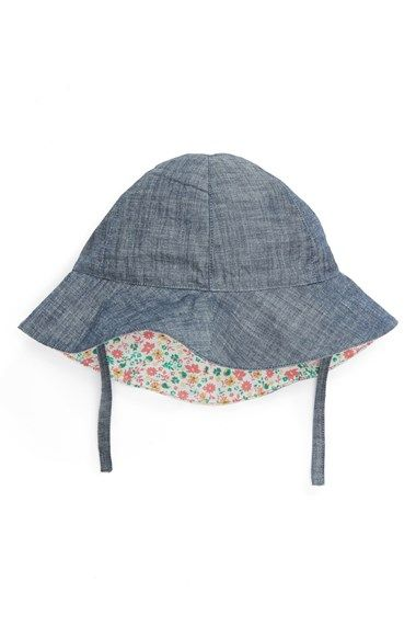 d80f4bcf6c6 Tucker + Tate Tucker+ Tate Reversible Sun Hat (Baby Girls) available at   Nordstrom