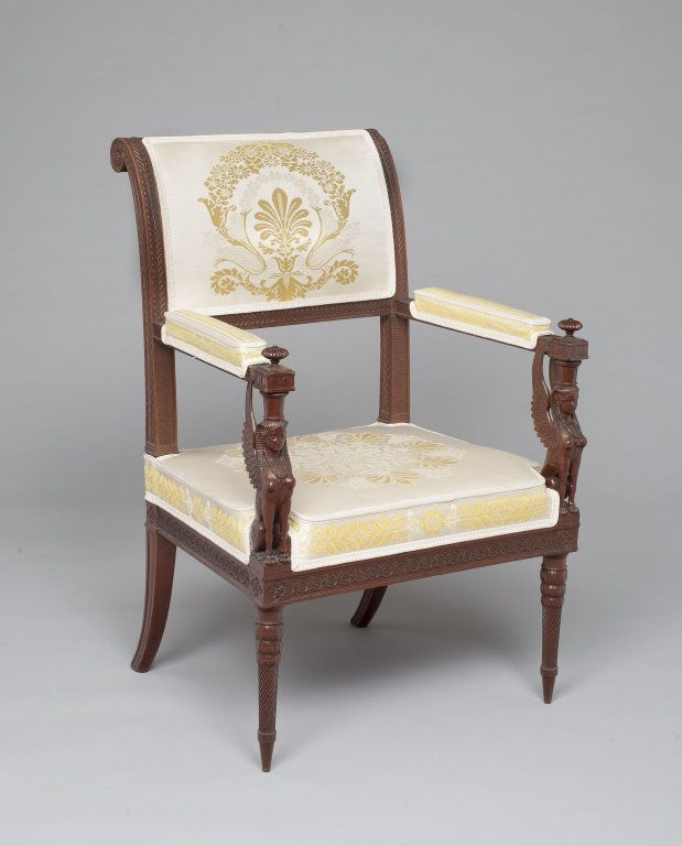 France designed by georges jacob french 1739 1814 armchair furniture pinterest - Garde meuble fontainebleau ...