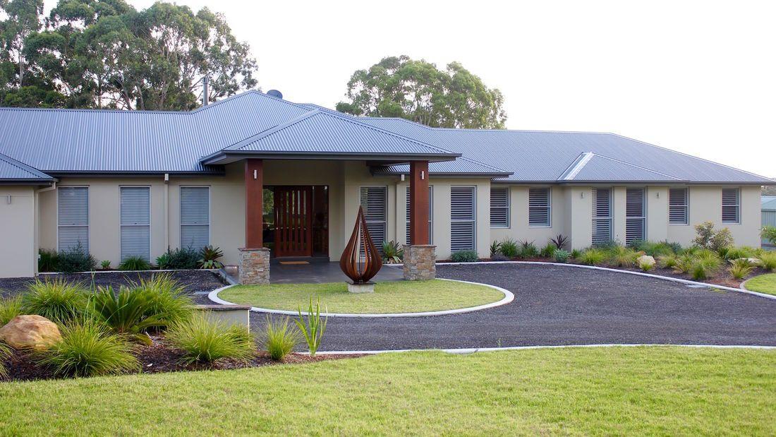 Acreage Landscape Design by Fluid ...   Acreage ...