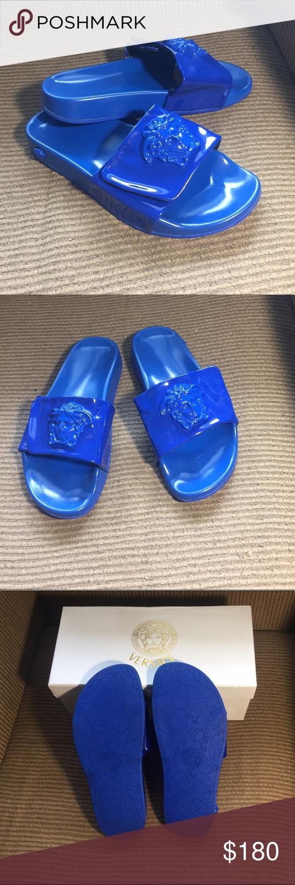 Versace Medusa Slides Sandals Versace Medusa Slides Sandals