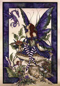 Amy Brown Artist Sticker - Fairies/Fantasy - Under Garden