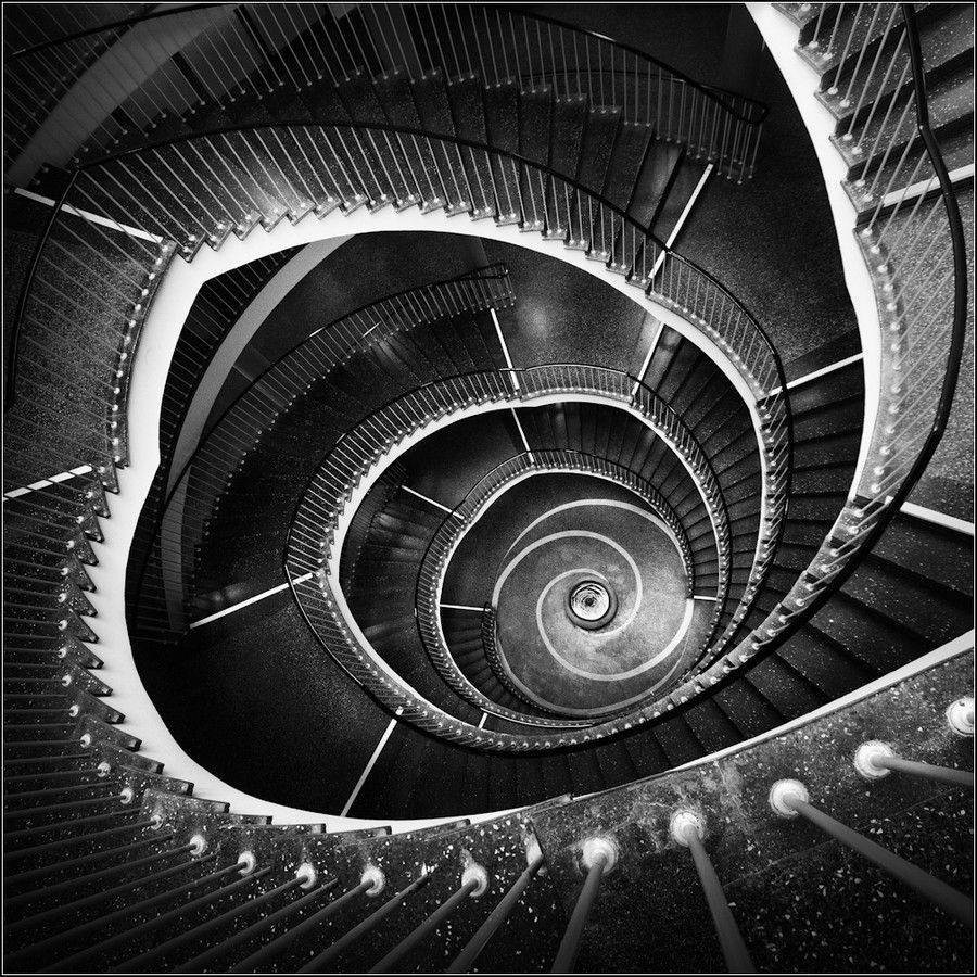 Seemingly Never Ending Stairs Twilight Zone Stairway By