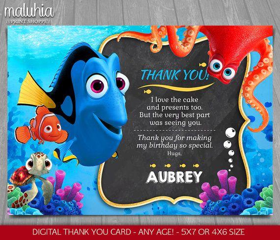 Disney Finding Dora Feliz Cumpleaños Pancarta Decoración Fiesta de Niños Nemo Chicos Chicas