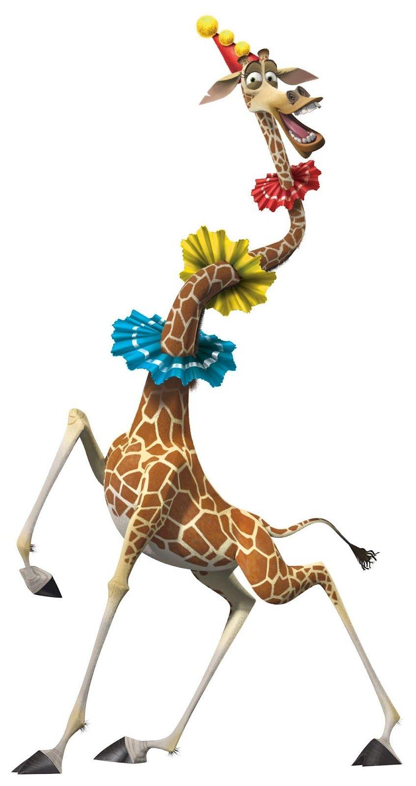 Melman but now that i realized david schwimmer plays him - Girafe dans madagascar ...