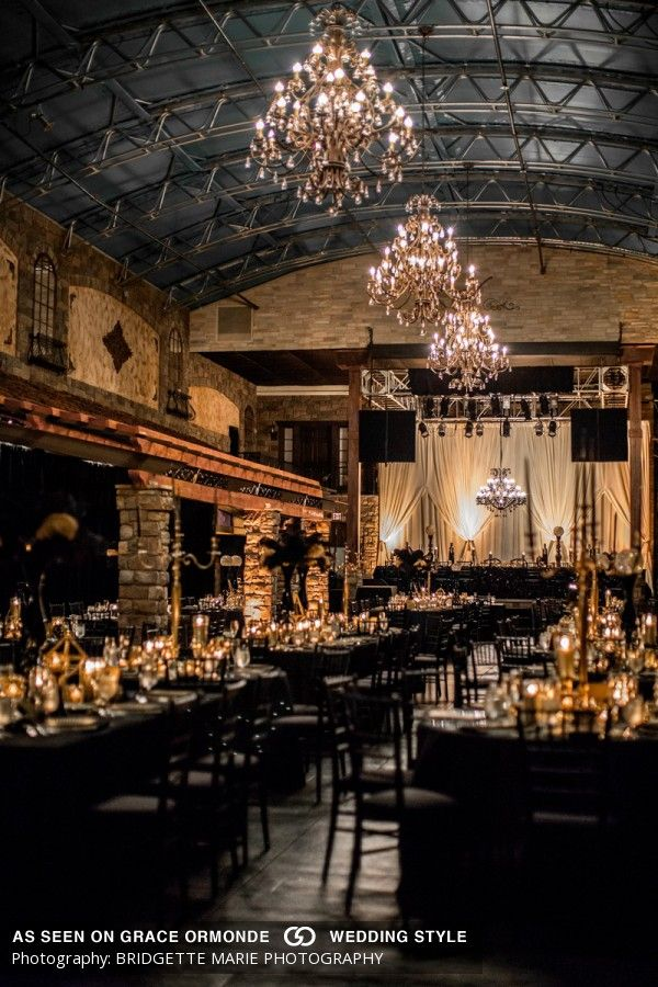 The Venue Scottsdale Arizona Wedding Eclectic Back Gold New Years