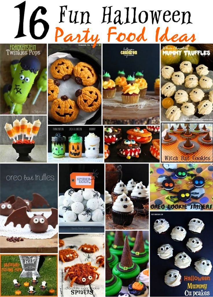 16 Fun Halloween Party Food Ideas   kidpep/blog/16-fun - spooky food ideas for halloween