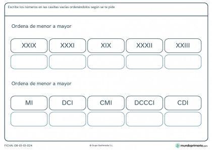 Fichas Para Imprimir Para Niños De Primaria Fichas De