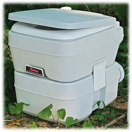 Century Portable Toilet With 5 Gallon Capacity Holding Tank