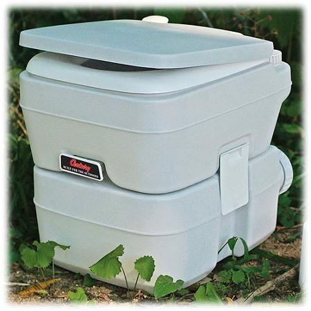 Century Portable Toilet With 5 Gallon Capacity Holding Tank