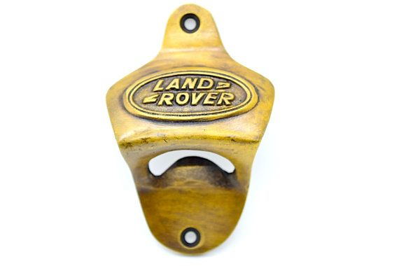land rover gifts beer bottle opener husband gift by Thefoundryman
