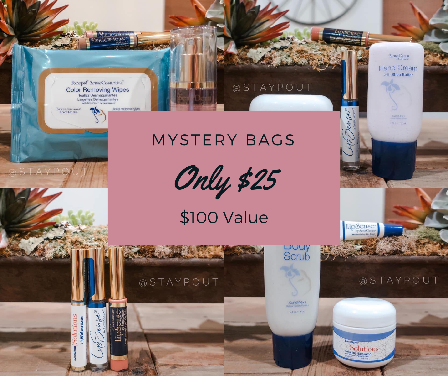 Senegence Mystery Bags only 25 in 2020 Senegence