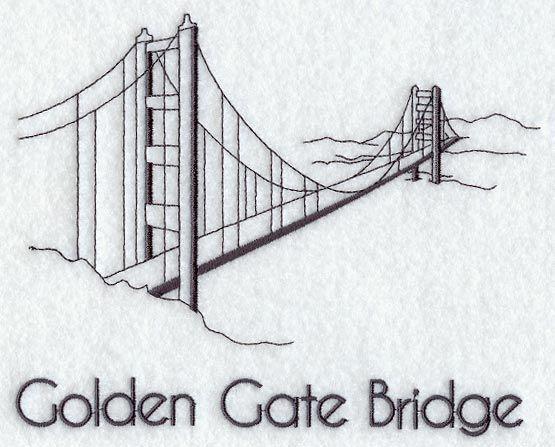 Golden Gate Bridge California Art Bridge Tattoo