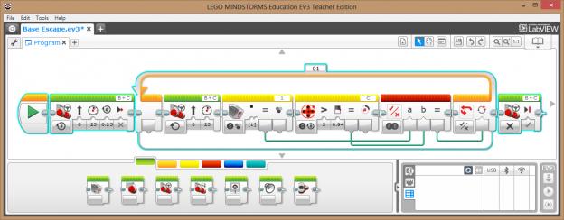 ev3 color sorter programming instructions