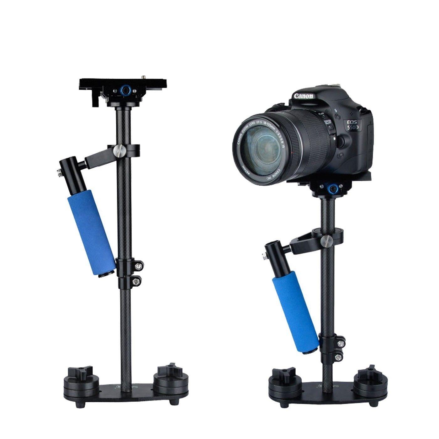 76.45$  Buy here - http://alid28.worldwells.pw/go.php?t=32558910873 - SF-04 S40 2.4Kg Carbon Fiber Handheld Stabilizer for Steadicam DLSR Camera Camcorder