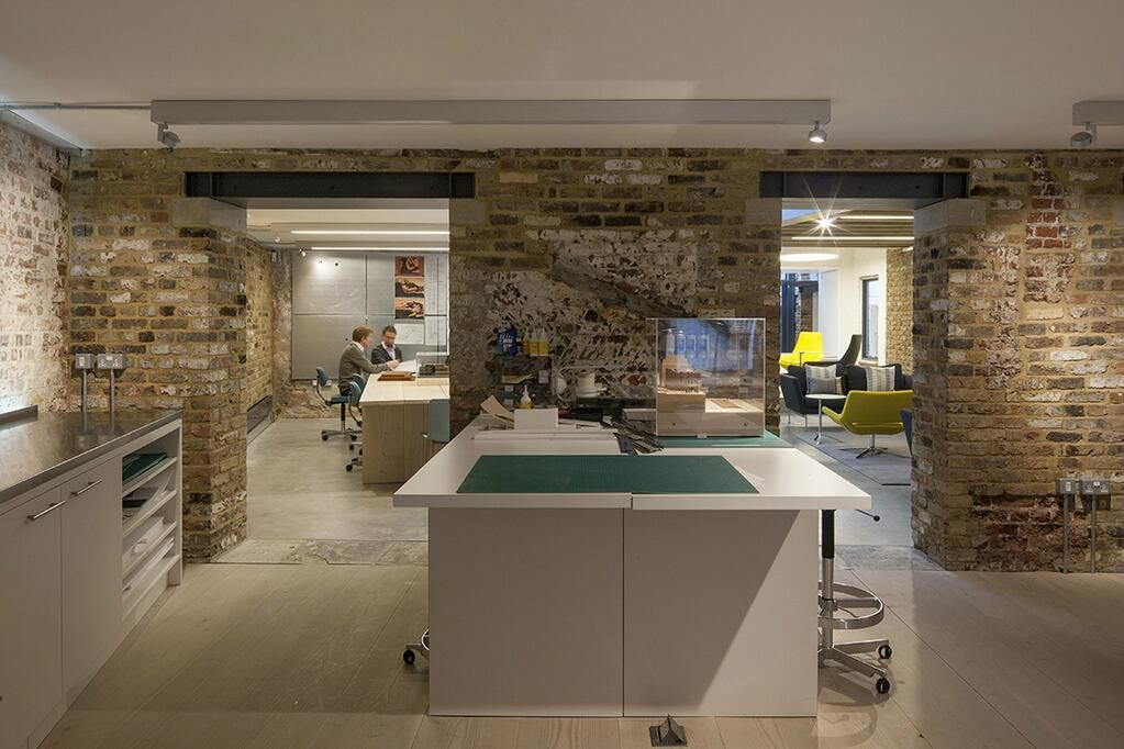 Bennetts Associates on Office workspace Basements and Spaces