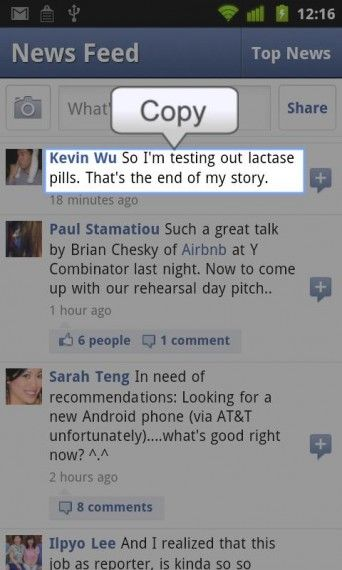 How to Copy Text on Facebook App in Android, iPhone and