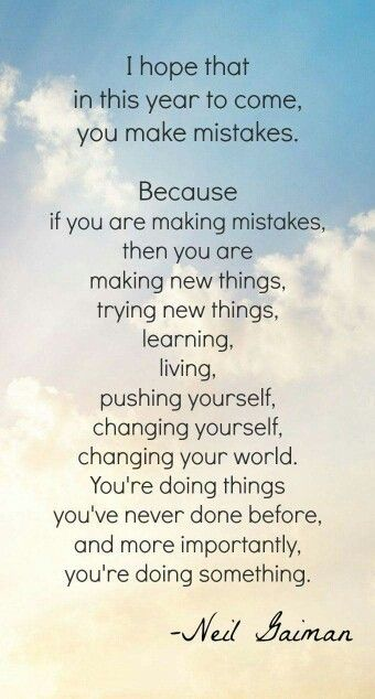 a good thought   Things i like   Pinterest   Making mistakes ...