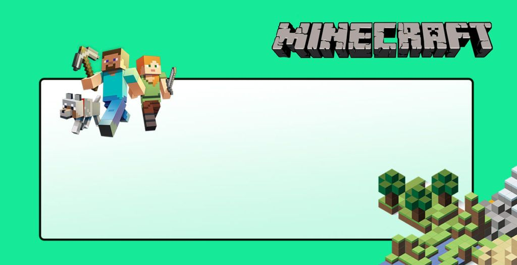 Party At Ease With Minecraft Invitations  Coolest Invitation