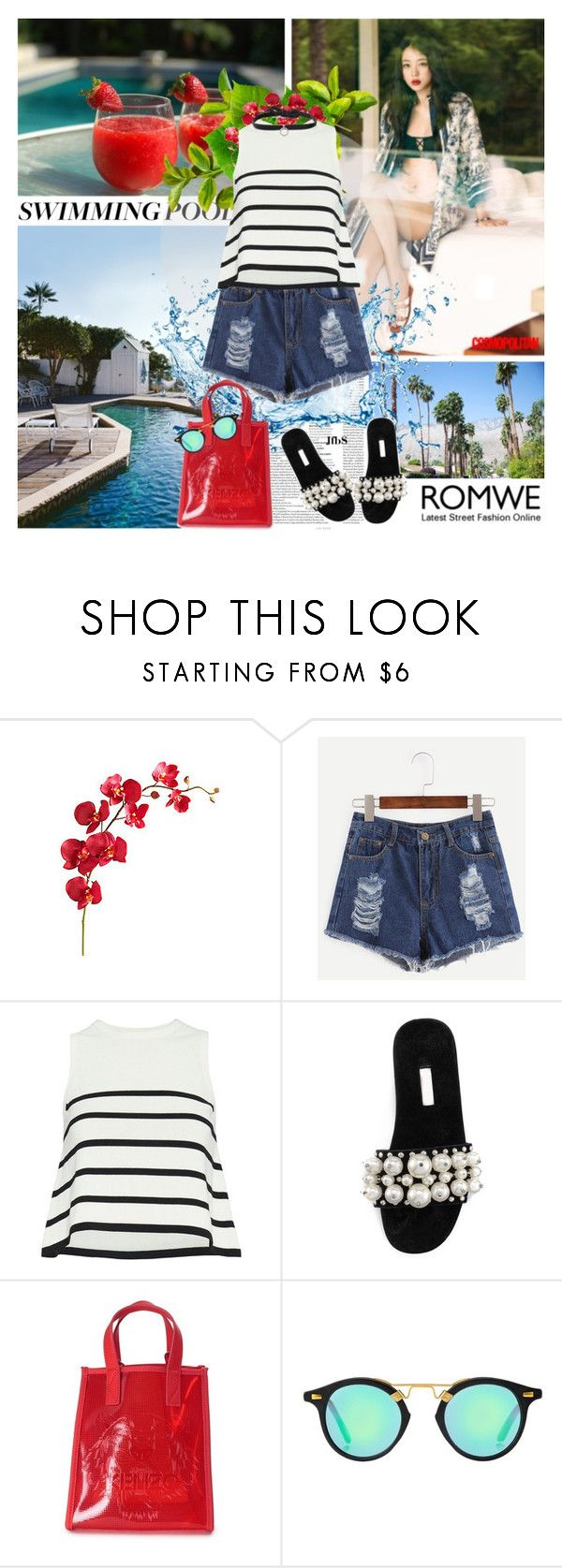 """""""#426 - """"Relax and Enjoy"""""""" by jfbs ❤ liked on Polyvore featuring Pier 1 Imports, Cardigan, Miu Miu, Kenzo, DANNIJO, romwe, casualoutfit, summerstyle, CasualChic and summer2016"""