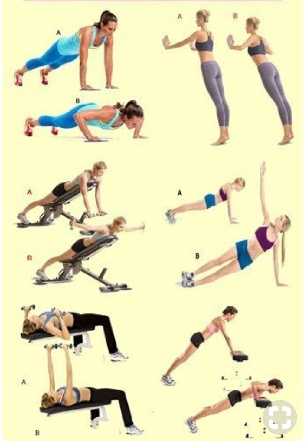 Pin On Uper Body Exercise تمرينات للجزء العلوي من الجسم