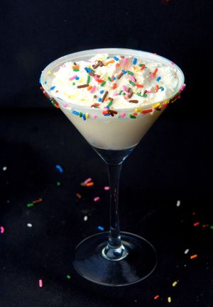 Birthday Cake Martini check it out Best recipe ever Amazing