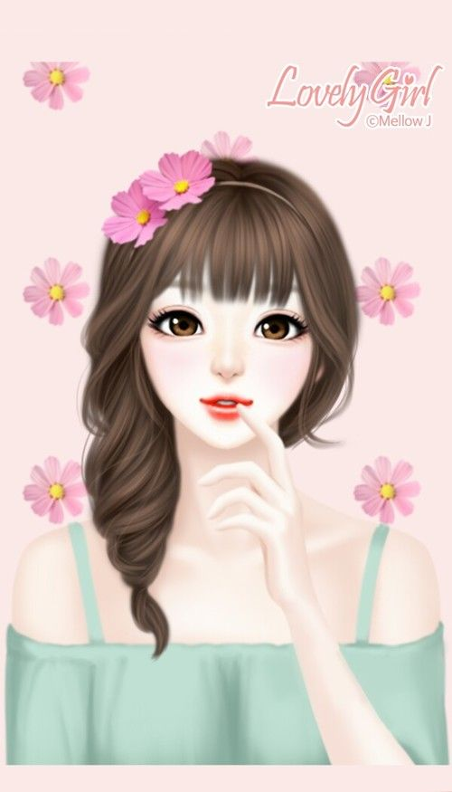 Gambar Art Background And Beauty Anime Art Girl Art Girl Cute Art