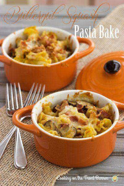 Cooking on the Front Burner: Butternut Squash Pasta Bake