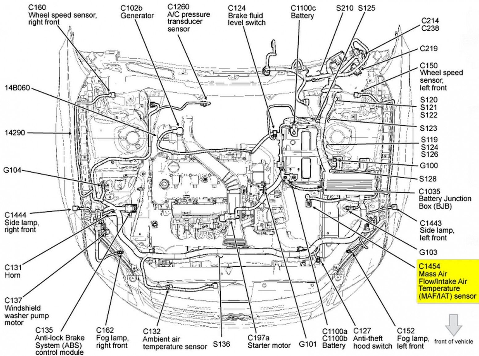 Diagram Of A 7 Ford Focus Engine Di