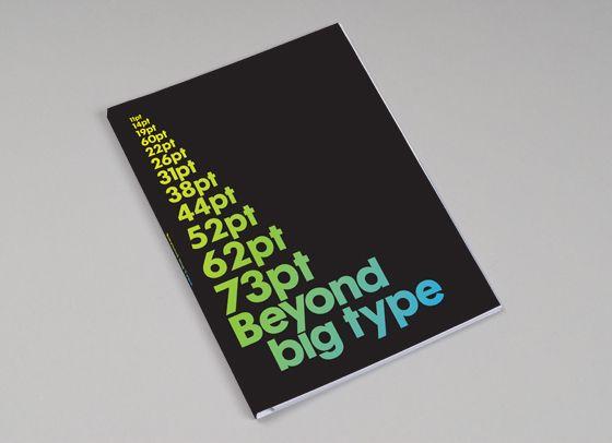 Beyond Big Type book