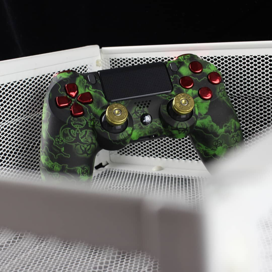 The Threat Is Real Biohazard Greenzombies Amazing Design Controller Electronics Design Console