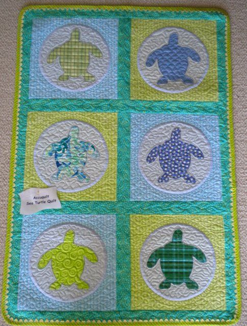 baby quilts turtles | baby loggerheads quilt kit previous in quilt kits next in quilt kits