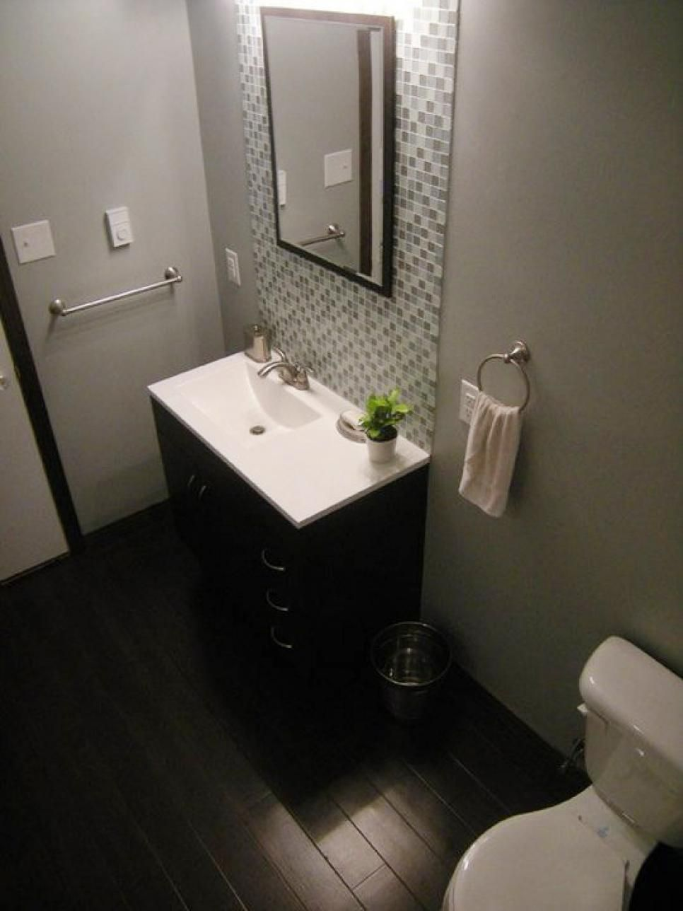 Budget Bathroom Remodels  Remodeling Ideas Hgtv And Bath Amazing Updating A Small Bathroom On A Budget Review