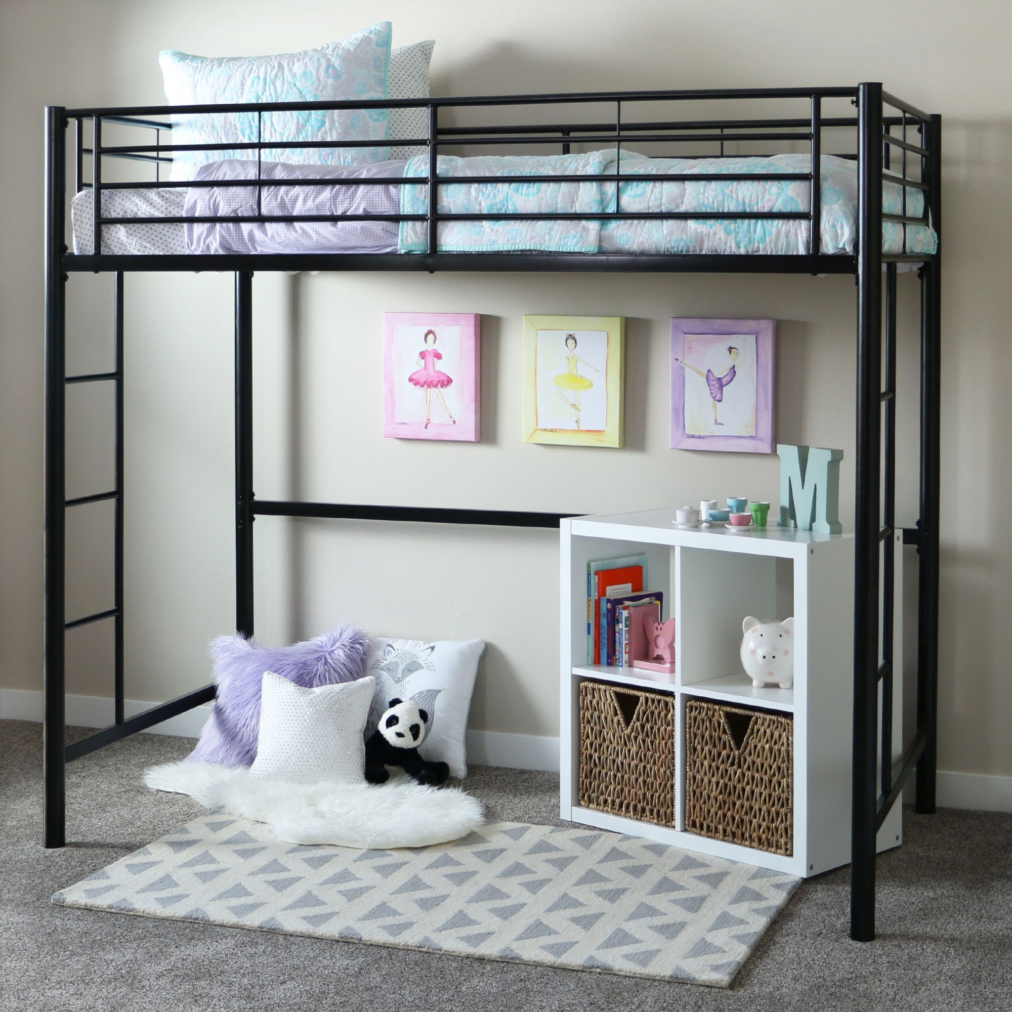 Found it at Wayfair Twin Loft Bed daily sales