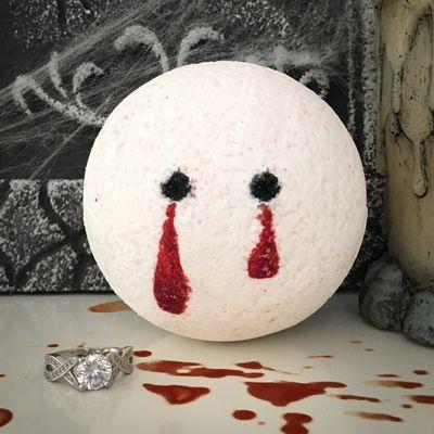 Pearl Baths pearl bath bombs vampire kiss ring bath bomb bathers beware! our