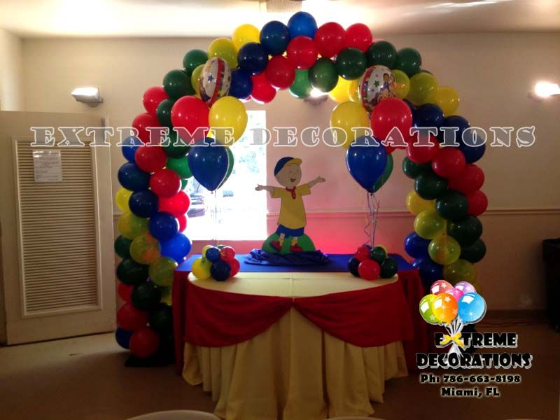 Wow! We\'re loving this Caillou Party Decoration - Check out that ...