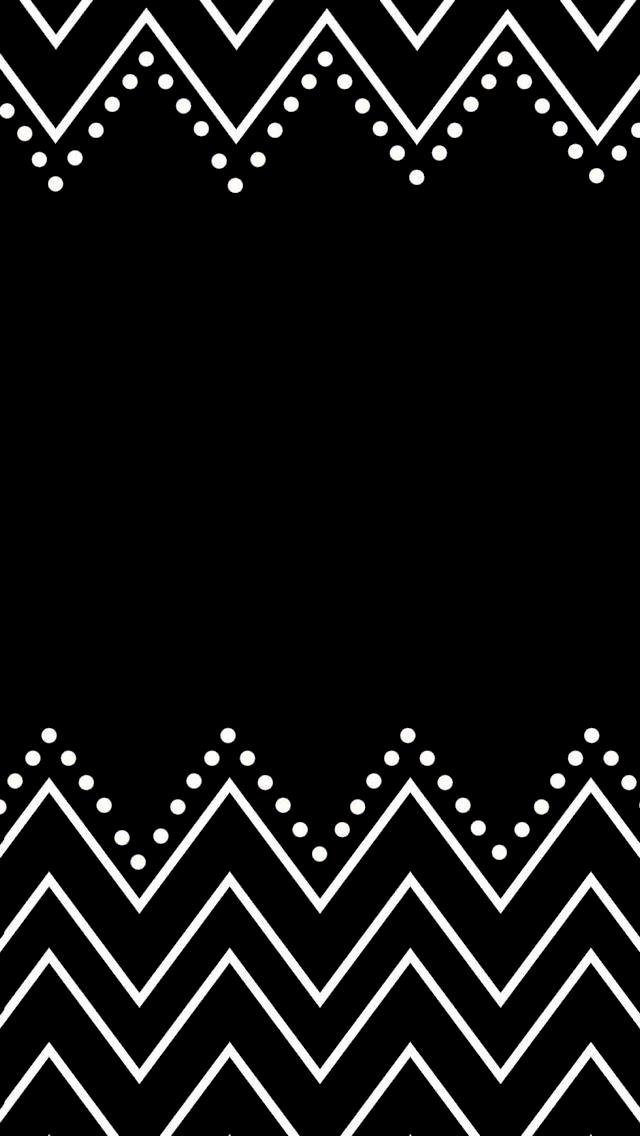 Pretty simple black and white phone wallpaper.
