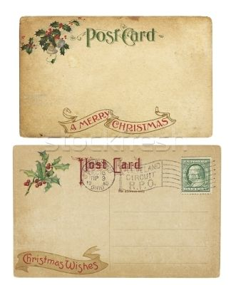 vintage christmas postcards - Google Search
