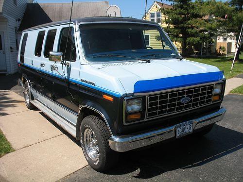1984 Ford Econoline E150 Buffalo Ny Custom Vans Ford Van Vans