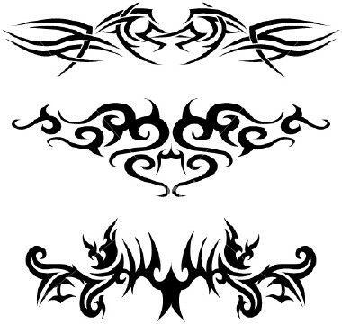 Taurus Tribal Tattoo Design For Lower Back Tribal Tattoos For Men Tribal Tattoo Designs Cool Tribal Tattoos