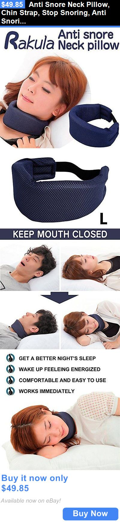 Anti Snore Neck Pillow, Chin Strap