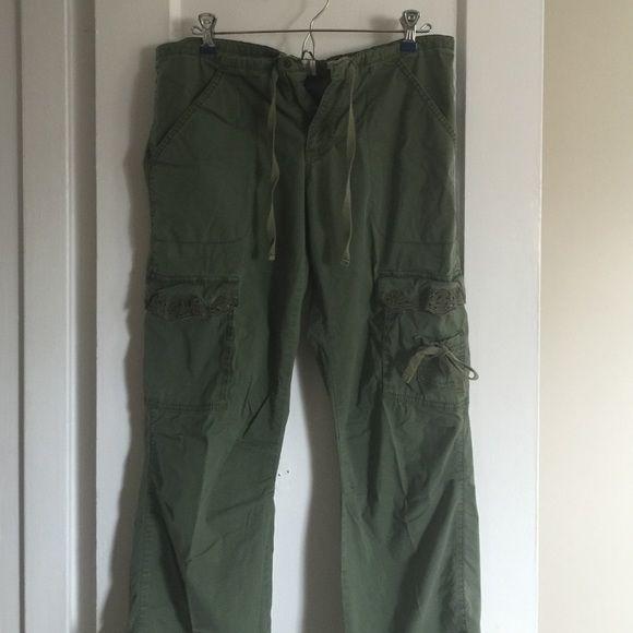 Cargo pants Lightweight, stretch pants. Super comfy! Old Navy Pants Straight Leg