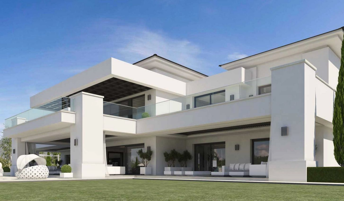 Contemporary Luxury Homes modern villas for sale - luxury contemporary villas and real
