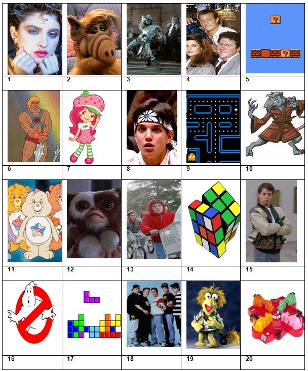 Picture Quiz 34 The Entertaining 80s | Reindeer Games | Pub