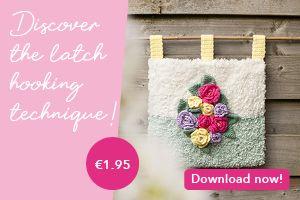 Latch Hook/Crochet Pattern Latch Hook Wall Hanging